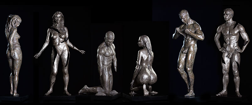 Bronze Sculptures, Mortality